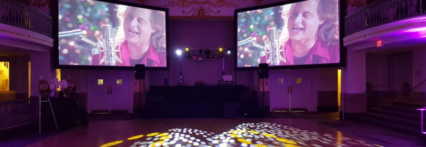 Video DJ'ing - Catering to any size room any location