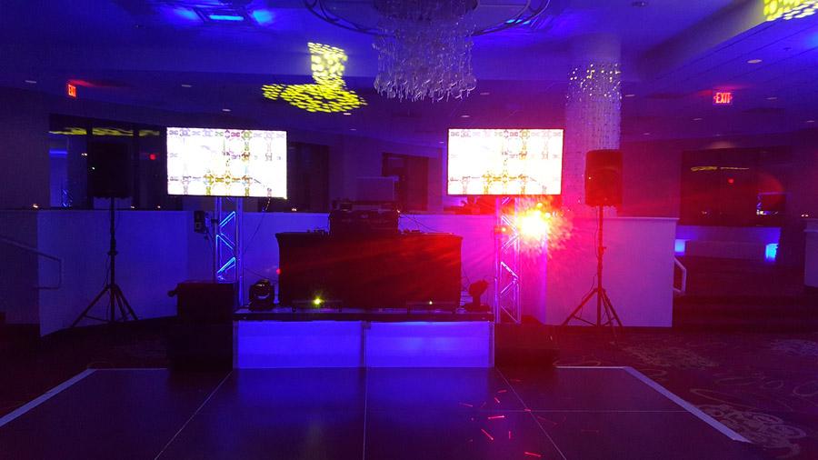 Video DJ'ing MC Dean Holiday Party December 2016